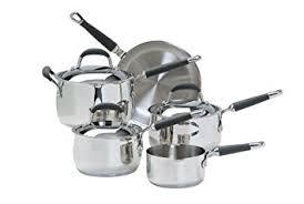 prestige cuisine prestige cuisine stainless steel cookware saucepan set 5