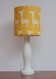 Light up the nursery with the unique Yellow Lamp