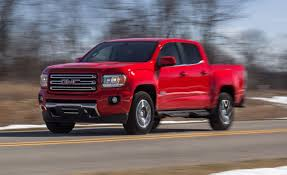 2015 GMC Canyon V-6 4x4 Crew Cab Test – Review – Car And Driver New 2017 Gmc Canyon 2wd Sle Extended Cab Pickup In Clarksville San Benito Tx Gillman Chevrolet Buick 2018 Sle1 4d Crew Oklahoma City 16217 Allnew Brings Safety Firsts To Midsize Truck Used 2016 All Terrain 4x4 V6 4wd Slt Fremont 2g18065 Sid Small Roseville Marine Blue For Sale 280036 Spadoni Leasing Short Box Denali Speed Xl Chevy Colorado Or Mid Body Line Door For Roswell Ga 2380134