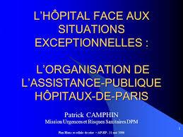 assistance publique hopitaux de siege l hôpital aux situations exceptionnelles l organisation de l