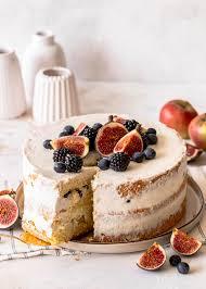apfel blaubeer torte