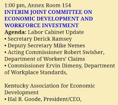 Ky Labor Cabinet Division Of Employment Standards by Alice Forgy Kerr Aliceforgykerr Twitter