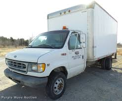 1999 Ford Econoline E450 Box Truck   Item DB2333   SOLD! Mar... 1999 Ford Econoline E450 Box Truck Item Db2333 Sold Mar Van Trucks Box In Ohio For Sale Used Public Surplus Auction 784873 68 V10 Econoline 16 Box Cube Van Work Truck Side Doors Ac 2012 On Buyllsearch 2016 Cadian Car And Truck Rental Grumman The Backcountry Van__1997 73l Power 2006 Diesel Shuttle Bus For Sale 145k Miles 10500 Nashville Tn 2003 Step Food Mag38772 Mag