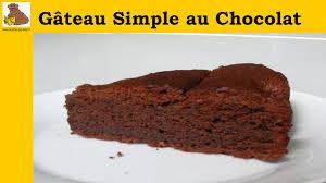 gâteau simple au chocolat recette facile