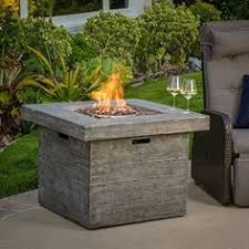 stainless steel gas outdoor pit table home reno ideas