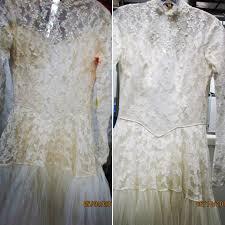 before u0026 after wedding dress restoration gallery