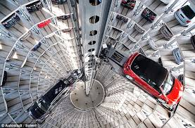 The ultimate high rise garage 600 new cars packed into tower with