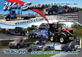 100 Roadside Service For Trucks Home Wess Towing Chicagoland IL