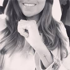 Best 25 Cross Tattoo Wrist Ideas On Pinterest
