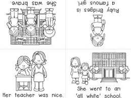 Ruby Bridges Coloring Sheets For Kindergarten Pages