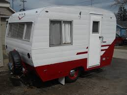 1960 Holiday Rambler Travel Trailers