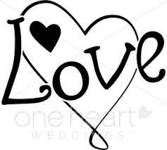 Love Clipart Black And White 2