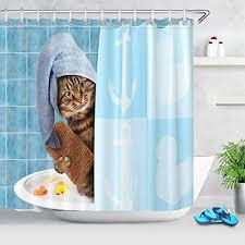 duschvorhänge katzen finden auf duschvorhaenge