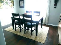 Oval Rugs For Dining Room Kitchen Table Rug Impressive Under