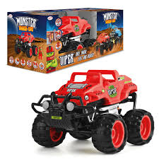 Remote Control Monster Smash Up Car - Viper | Toyrific UK