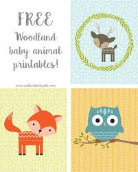 Coloring Pages Printable Woodland Baby Free Pictures Of Animals Girls Kids Nursery Cute Tracks