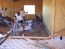 Ground Floor Casting Means by Polyethylene Under Concrete Slabs Greenbuildingadvisor Com