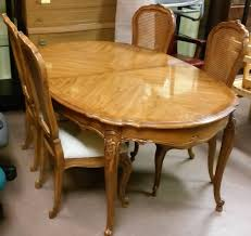 thomasville dining room table throughout vintage dining room