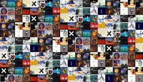 The Smashing Pumpkins Oceania Full Album by Little Birdy Tiled Desktop Wallpaper