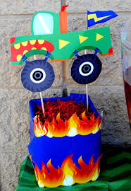 MONSTER TRUCK Party - Monster Truck Centerpieces - Monster Jam ... Chicago Bears Tailgating Truck Mr Kustom Mr Kustom Game Truck Parties Buckeye Video Laser Tag The Ultimate And Party In Virginia Express Northeast Oh Birthday Cupcake Cutie Pies Taco Trail Gametruck Cherry Hill Games Watertag Trucks Street Freeze Ice Cream Las Vegas Food Land Rover Defender 130 Based Redbull Party Truck Is Exactly What And Partyguy2u Itasca Tx Throw A Little Blue The Book Chasing After Dear Fiesta Nights