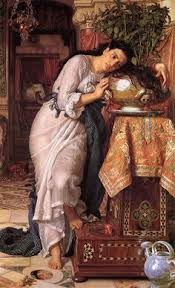 1868 Isabella And The Pot Of Basil By William Holman Hunt Depicting A Scene From Pre Raphaelite BrotherhoodVICTORIAN