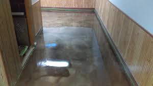 100 Solids Epoxy Garage Floor Paint by Metallic Epoxy Floors Lima Ohio Elite Concrete Creations