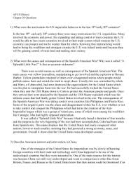 Sinking Of The Uss Maine Apush by Ch 10 Test Review Sheet U2013 Imperialism And The Spanish American