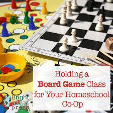 Holding A Board Game Class For Your Homeschool Co Op