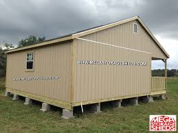 Floor Joist Spacing Shed by Mega Storage Sheds Ranch Cabins