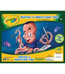 Crayola Bathtub Fingerpaint Soap by Crayola Marker U0026 Watercolor Pad 10
