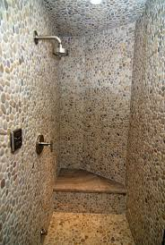 Sliced Pebble Tile Canada by Excellent Pebble Tile Shower Floor 125 Pebble Tile Shower Floor