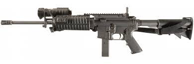 Pre Ban Colt AR 15 9mm NATO Carbine with SureFire Weapon Light and