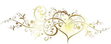Wedding clipart heart border 1