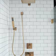 white subway shower wall tiles design ideas