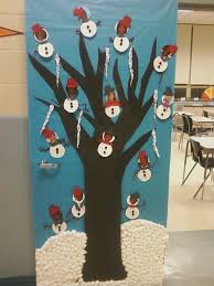 Office Door Christmas Decorating Ideas by Christmas Door Decorating Themes For Office Mouthtoears Com