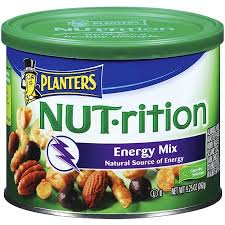 Planters Energy Mix Nut Rition Mixed Nuts 9 25 oz