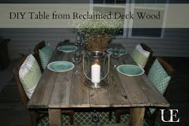 4 How To Build A Rustic Outdoor Dining Table