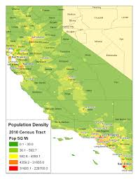 D Liberal States Massachusetts Vs California Californiatracts Large Map With Of Counties And Major