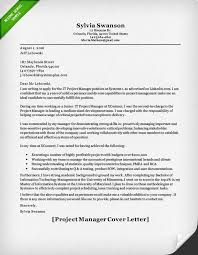 Product Manager and Project Manager Cover Letter Samples