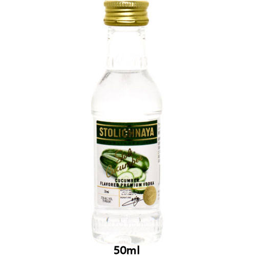 Mini Stolichnaya Cucumber Flavored Russian Vodka 50 ml