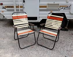 Details About Vintage Retro Fold Up CHAIRS - Garden, Beach ...