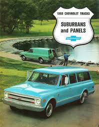 1968 Chevrolet Suburbans And Panel Trucks | Alden Jewell | Flickr