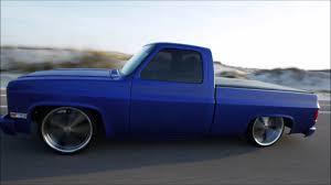 100 C10 Chevy Truck 1987 Body Droped With Air Ride Suspension