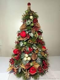 Folded Fabric Christmas Tree Mas