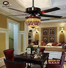 andersonlight retro arts indoor ceiling fan 5 stained