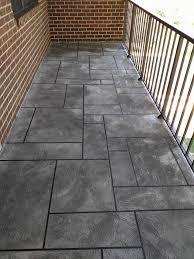 concrete balcony resurfacing wilmington concrete resurfacing