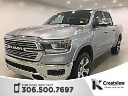 100 Ram Truck 1500 New 2019 Laramie Crew Cab Panoramic Sunroof 12
