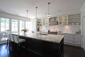 Capricious Galley Kitchen With Island Layout Bench Designs Dimensions At End