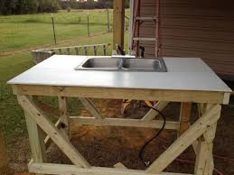 Stainless Steel Fish Cleaning Station With Sink by Fish Cleaning Table Plans Table Designs