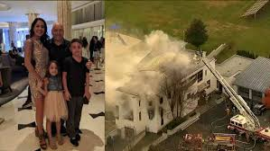 100 Toddler Fire Truck Videos Colts Neck New Jersey Mansion Fire Deaths Of 2 Adults 2 Children